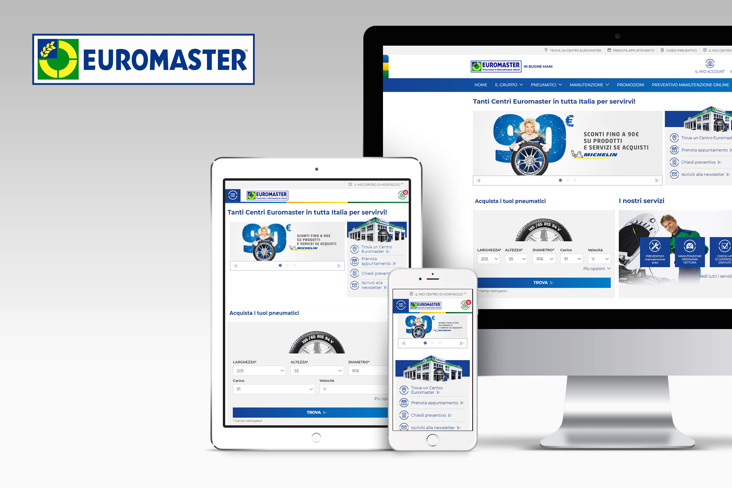 Euromaster responsive
