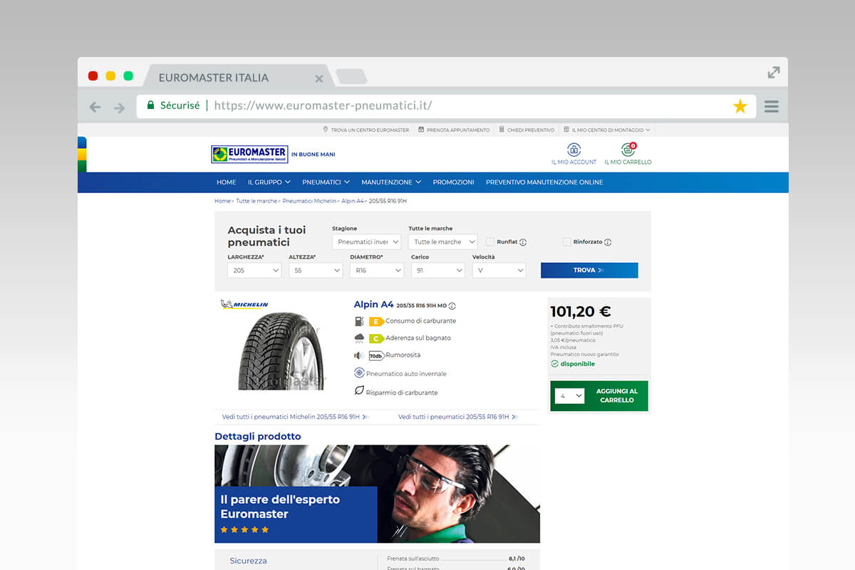 Euromaster - tire information
