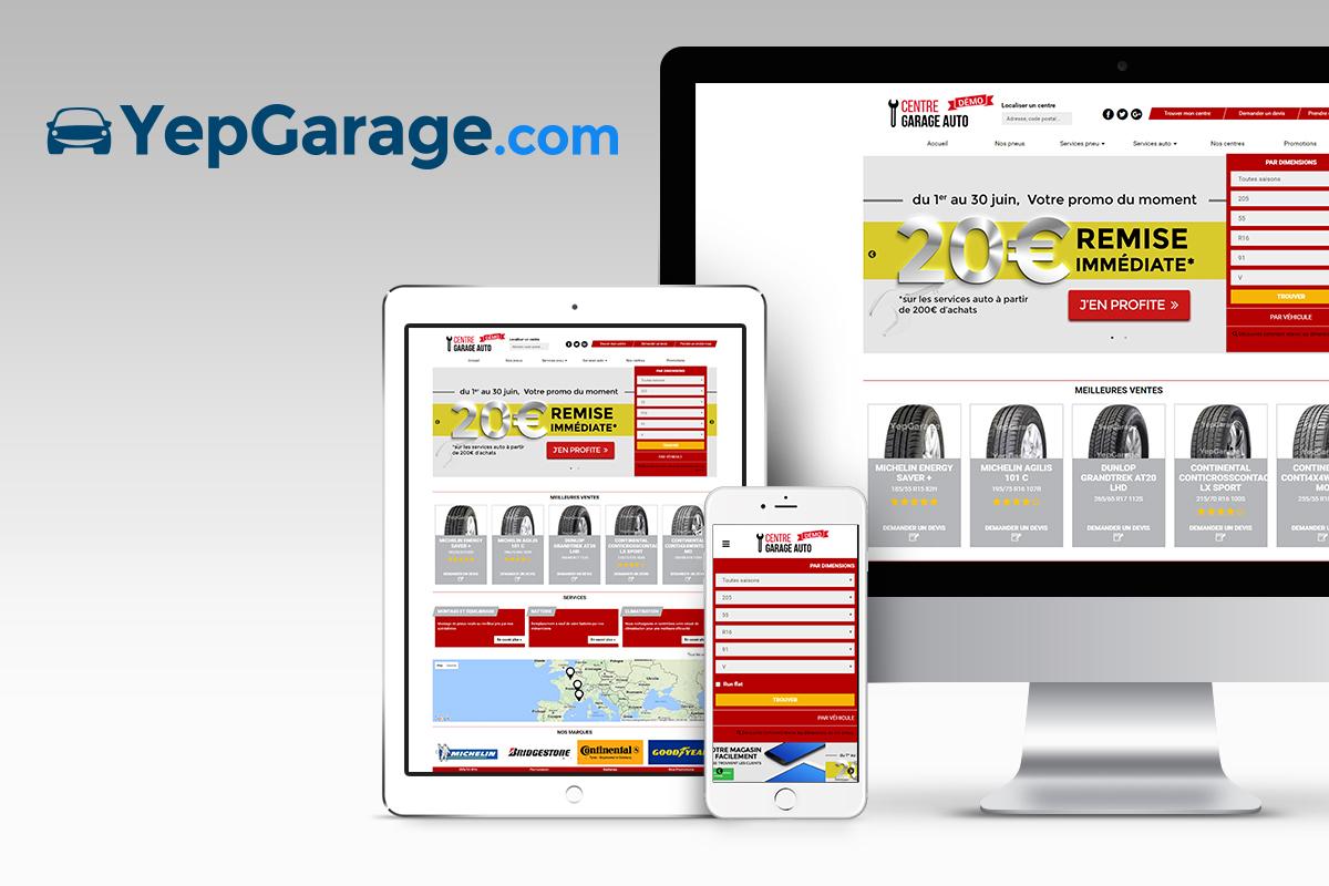 yepgarage site web