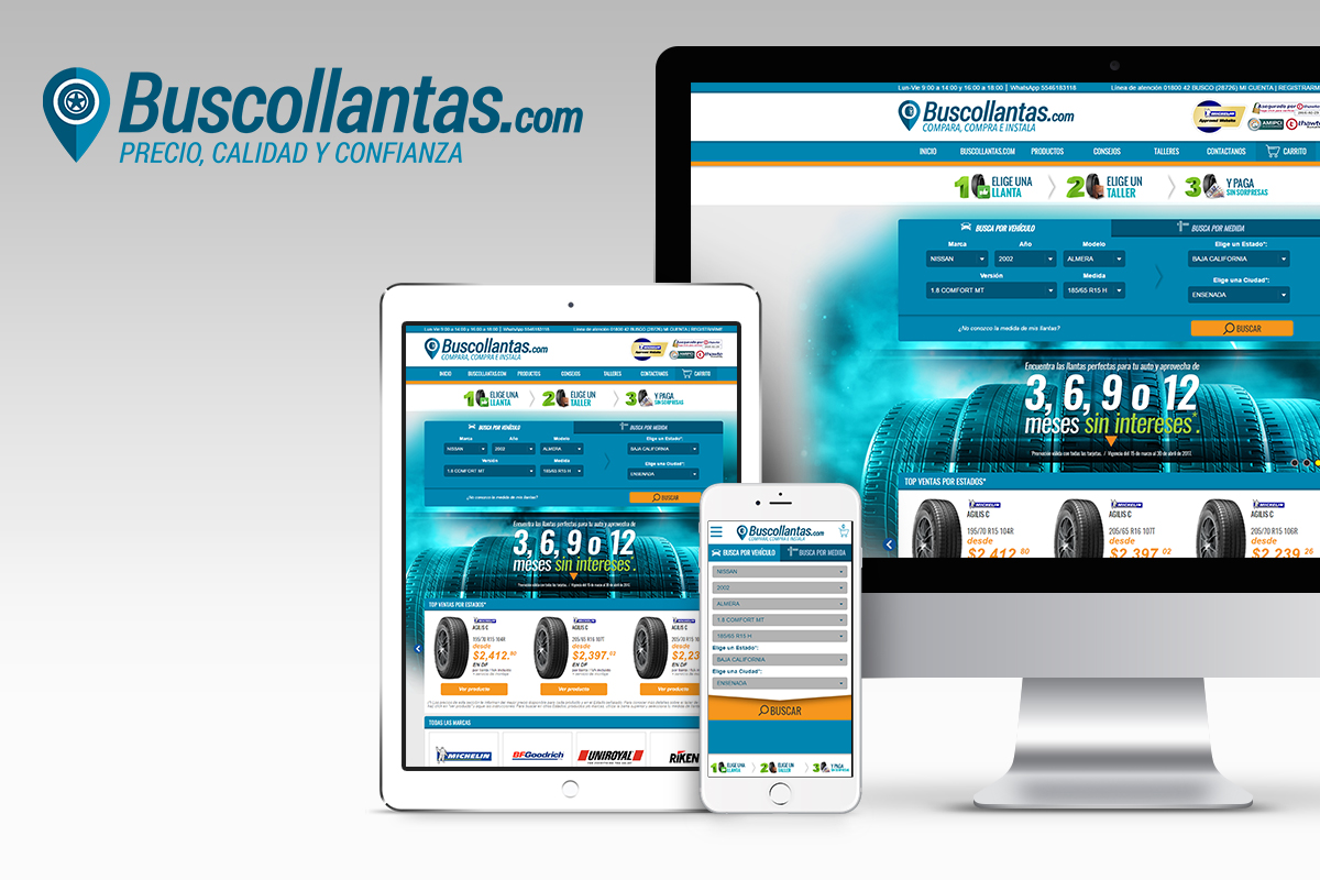 buscollantas website