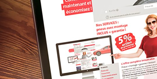 swiss tyre group website preview