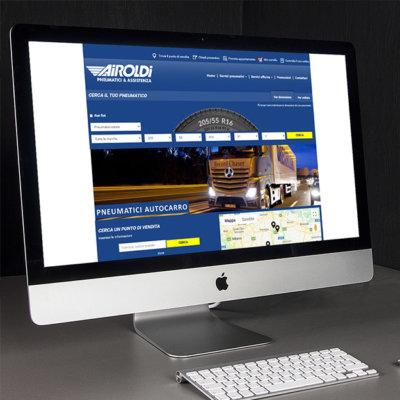 Page d'accueil d'un garagiste du réseau Mastro