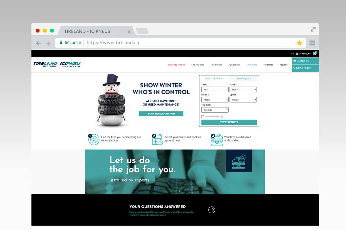 Tireland - homepage